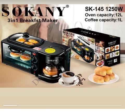 Sokany 3 In 1 Breakfast Maker
